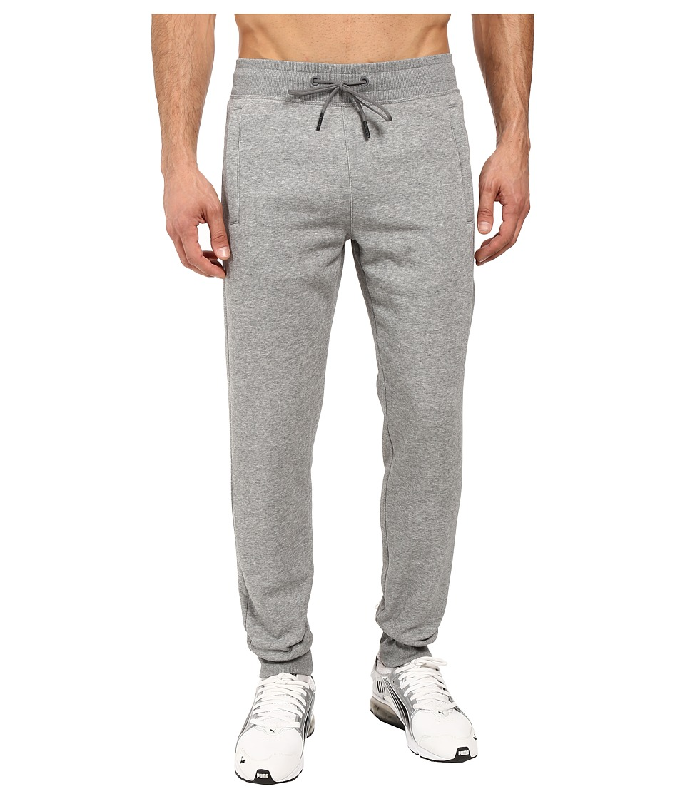 PUMA - Evo Core Fleece Pants (Medium Gray Heather) Men's Casual Pants