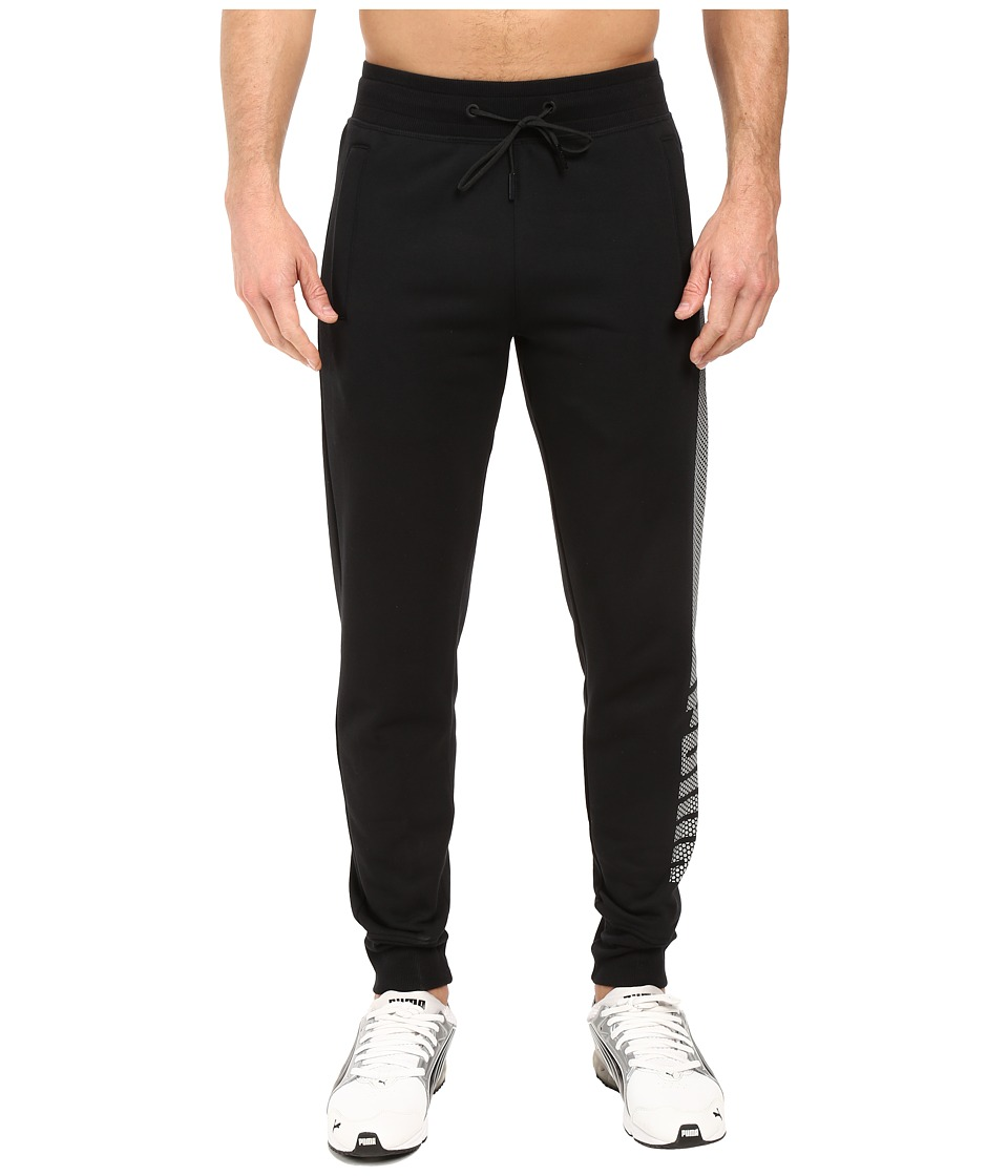 PUMA - Evo Core Fleece Pants (Cotton Black) Men's Casual Pants