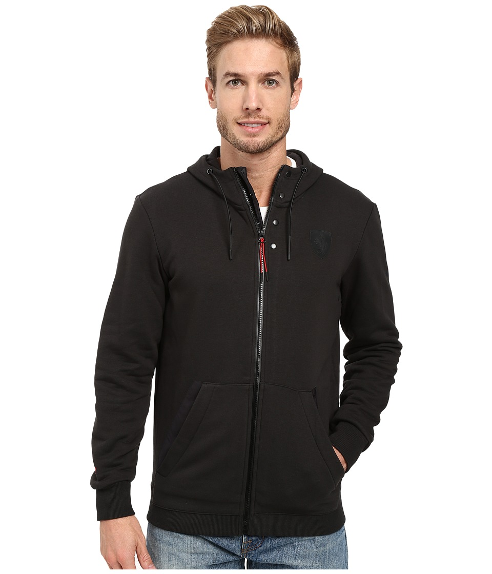 PUMA - Ferrari Hooded Sweat Jacket (Moonless Night) Men's Jacket