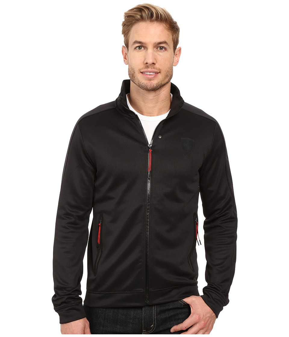PUMA - Ferrari Track Jacket (Moonless Night) Men's Coat