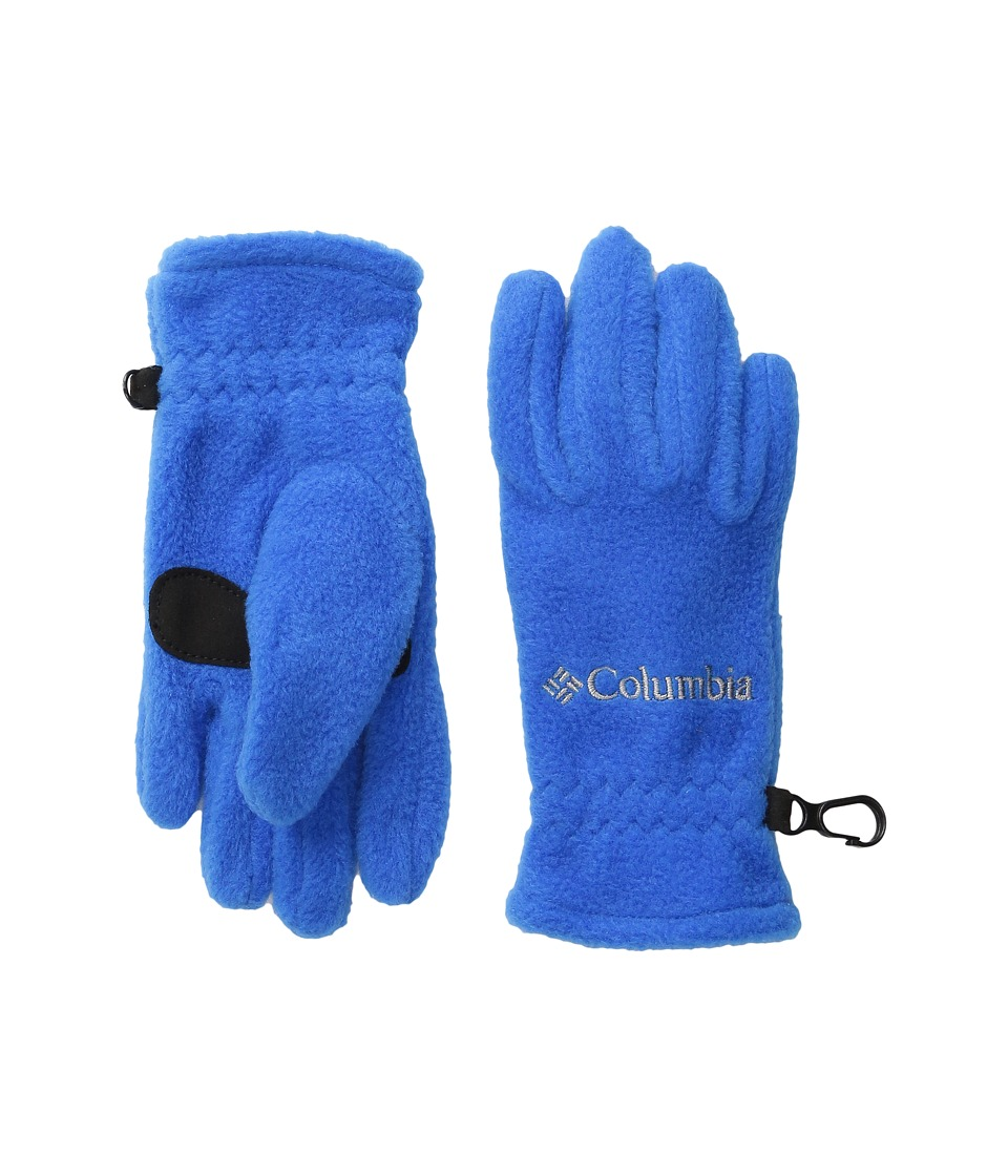 Columbia - Fast Trek Glove (Big Kids) (Super Blue) Extreme Cold Weather Gloves