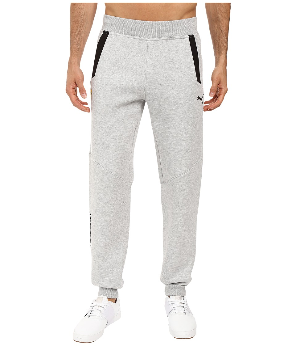 PUMA - SF Sweat Pants (Light Gray Heather) Men's Casual Pants