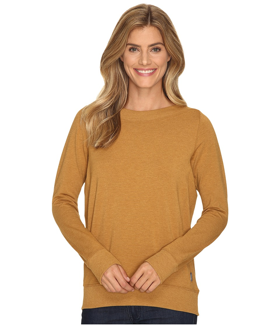 Merrell - Afterglow Pullover (Bone Brown Heather) Women's Long Sleeve Pullover