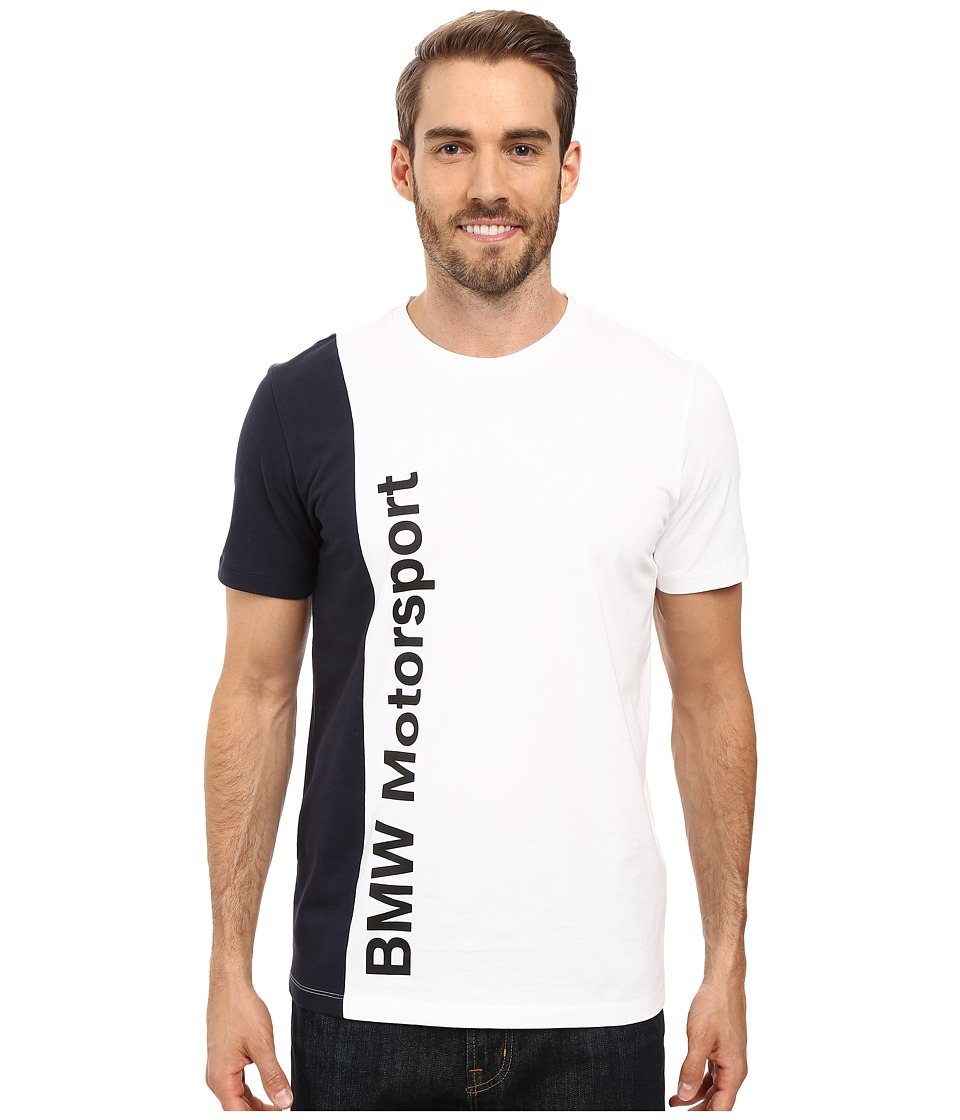 PUMA - Bmw Msp Tee (PUMA White) Men's T Shirt