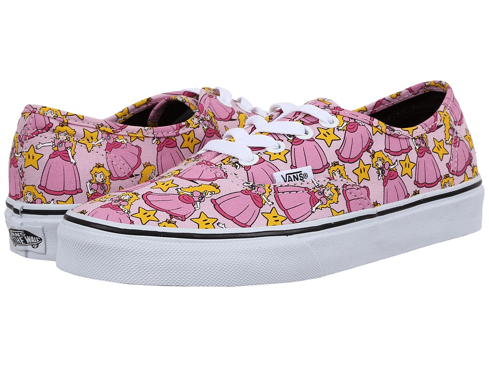 Vans - Authentic X Nintendo ((Nintendo) Princess Peach) Skate Shoes