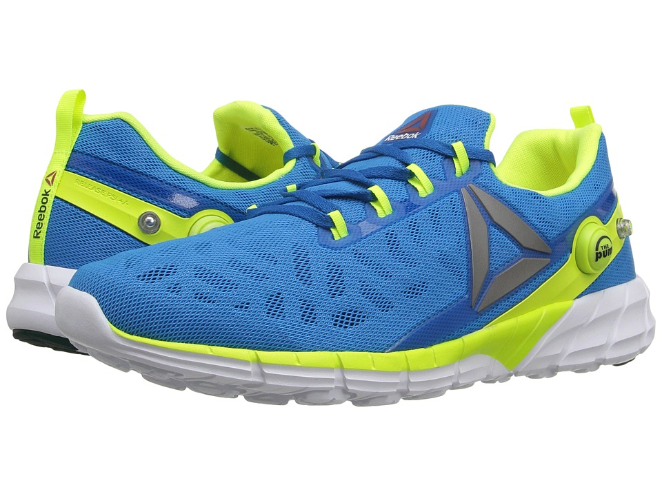 Reebok - ZPump Fusion 2.5 (Instinct Blue/Collegiate Navy/Solar Yellow/Pewter/White) Men's Running Shoes