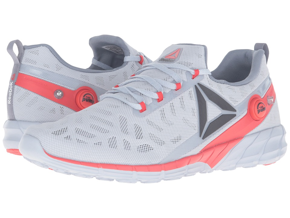 Reebok - ZPump Fusion 2.5 (Cloud Grey/Asteroid Dust/Black/Riot Red/White) Men's Running Shoes