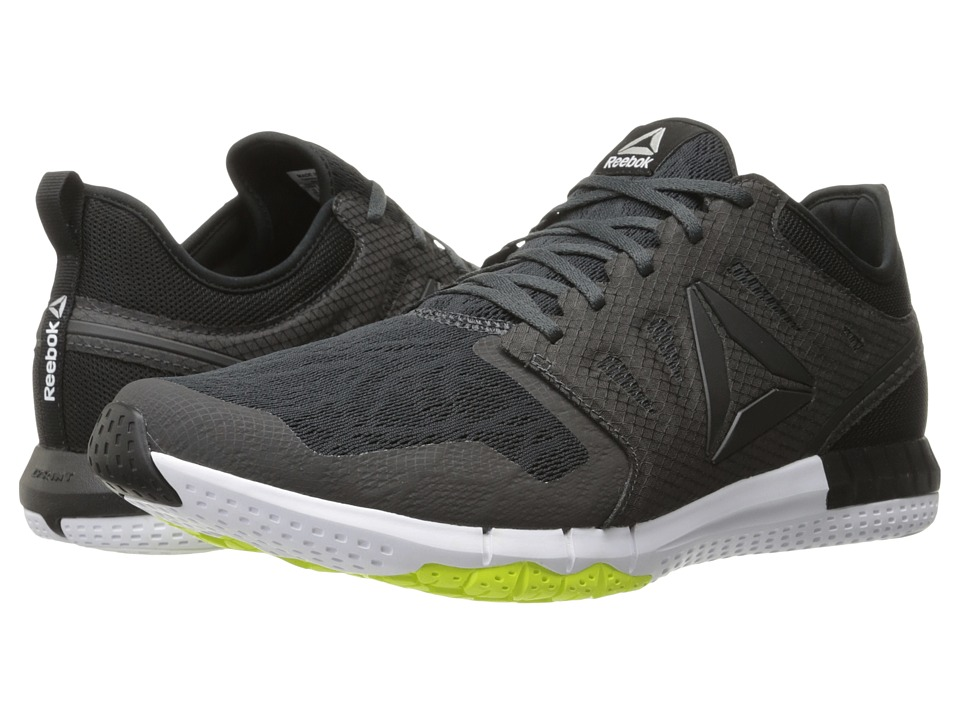 Reebok - ZPrint 3D (Coal/Black/Alloy/Solar Yellow/Silver Metallic) Men's Running Shoes