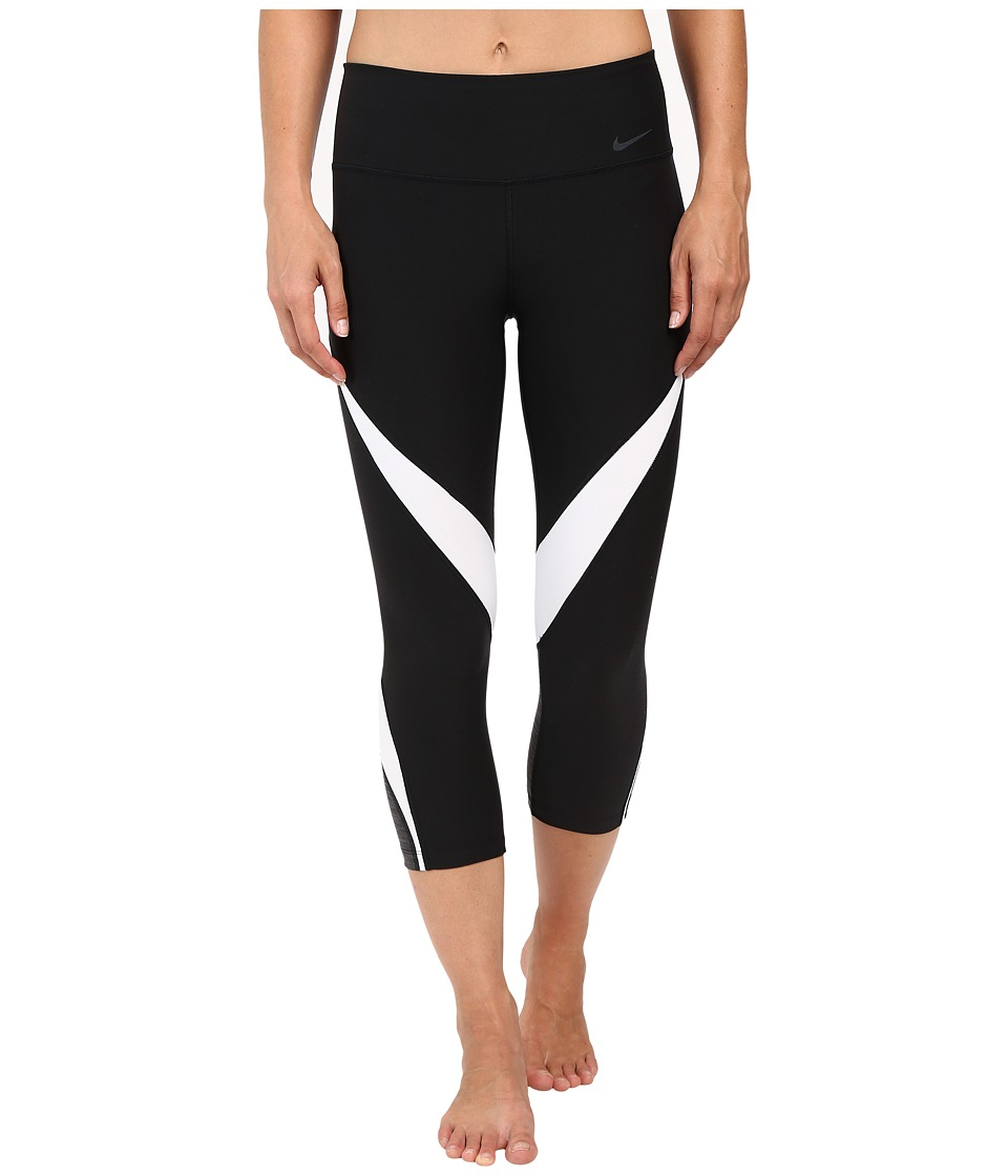 Nike - Power Legend Graphic Training Capri (Black) Women's Capri