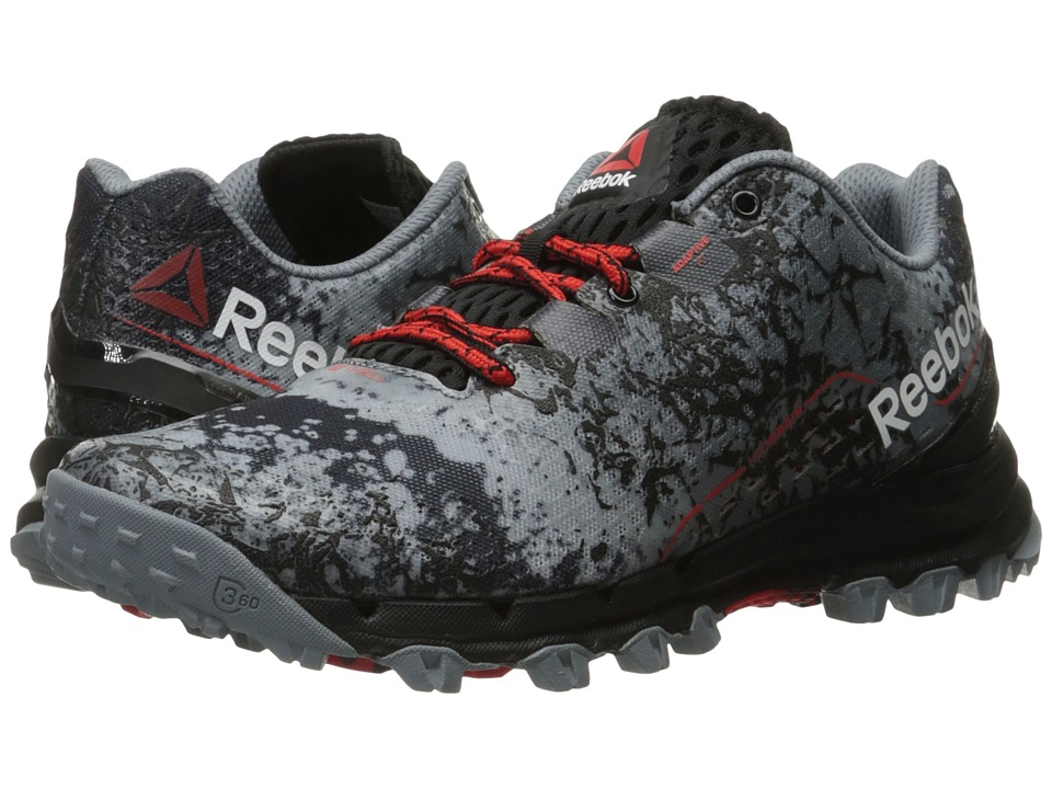 Reebok - All Terrain Thrill (Asteroid Dust/Black/Riot Red) Men's Climbing Shoes