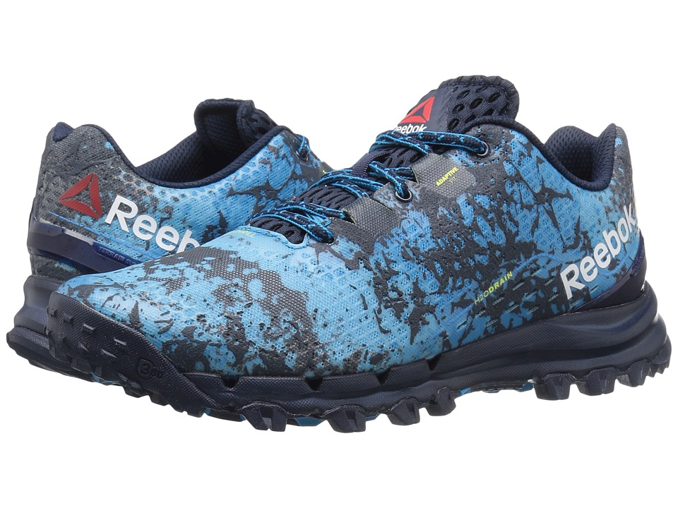 Reebok - All Terrain Thrill (Collegiate Navy/Royal Slate/Wild Blue/Hero Yellow) Men's Climbing Shoes