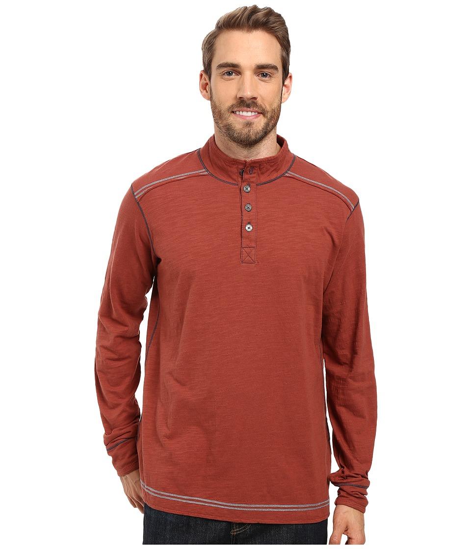 Ecoths - Max Pullover (Henna) Men's Long Sleeve Pullover