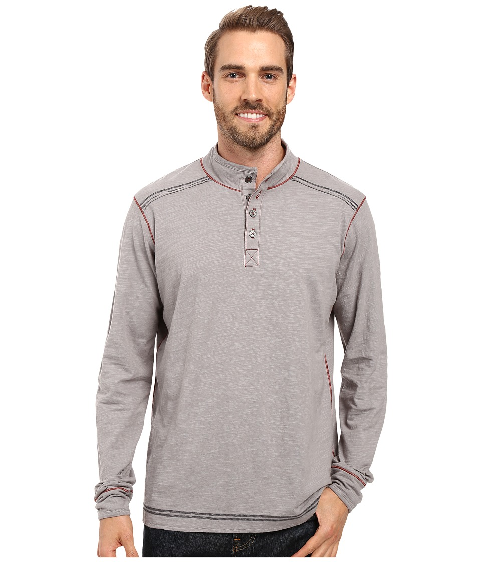 Ecoths - Max Pullover (Frost Grey) Men's Long Sleeve Pullover