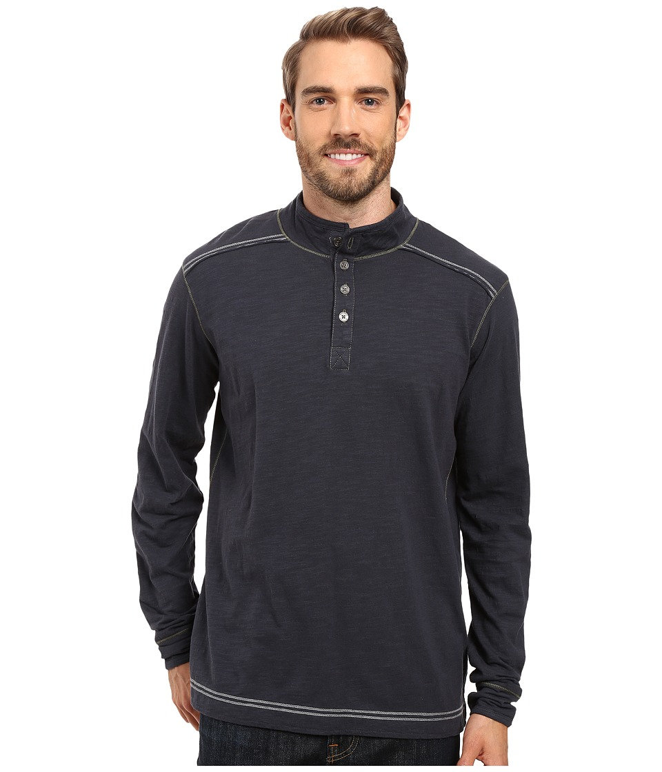Ecoths - Max Pullover (Ombre Blue) Men's Long Sleeve Pullover