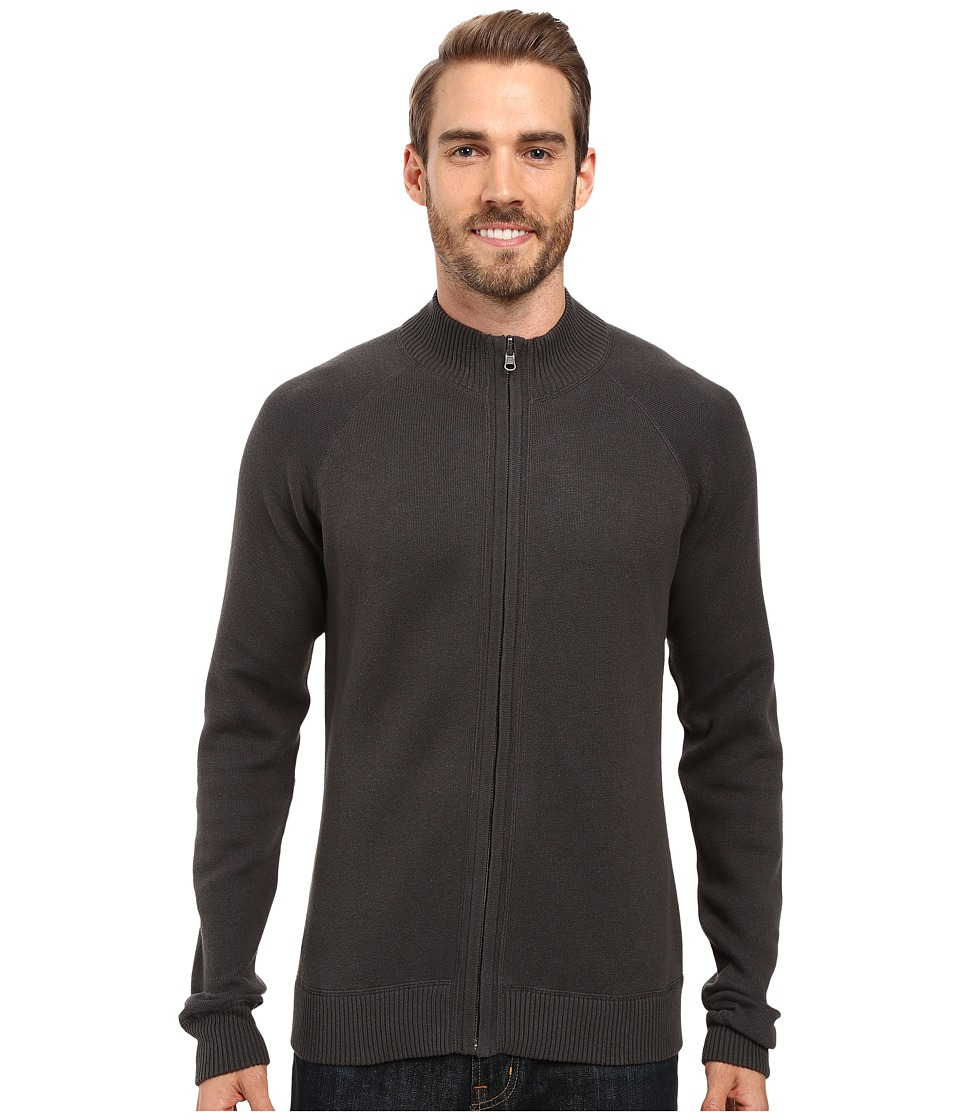 Ecoths - Nolan Sweater (Dark Shadow/Stormy Sea) Men's Long Sleeve Pullover