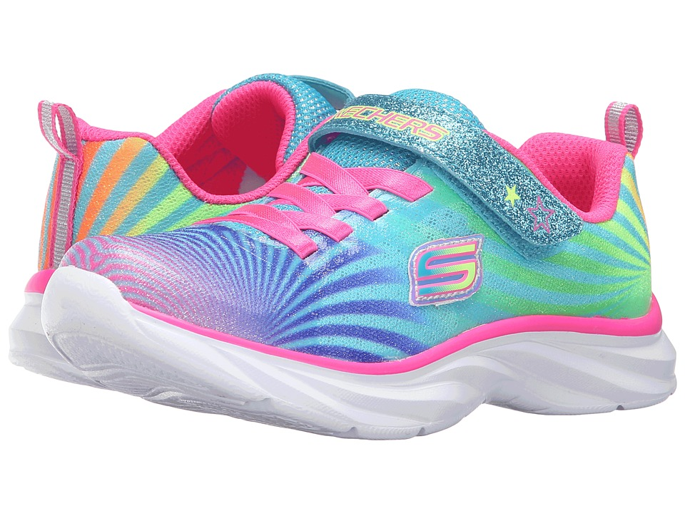 SKECHERS KIDS - 80591L (Little Kid/Big Kid) (Multi) Girl's Shoes