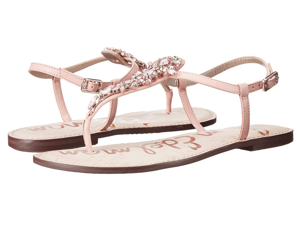Sam Edelman - Gene (Seashell Pink Vaquero Saddle Leather) Women's Sandals