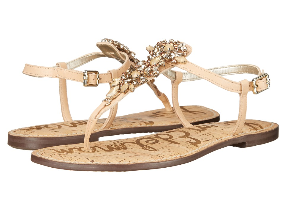 Sam Edelman - Gene (Natural Naked Vaquero Saddle Leather) Women's Sandals