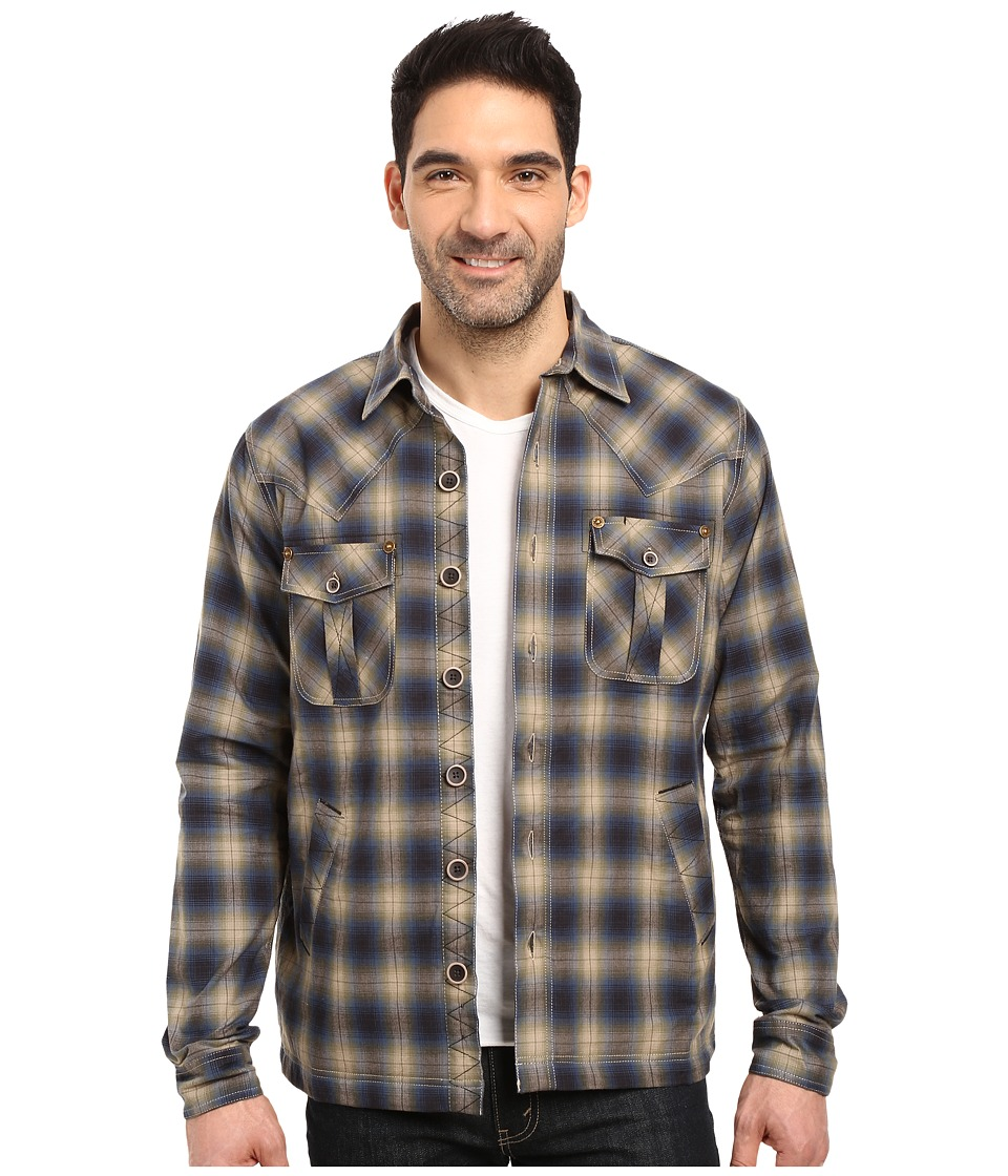 Ecoths - Cooper Shirt Jacket (Mallard) Men's Clothing