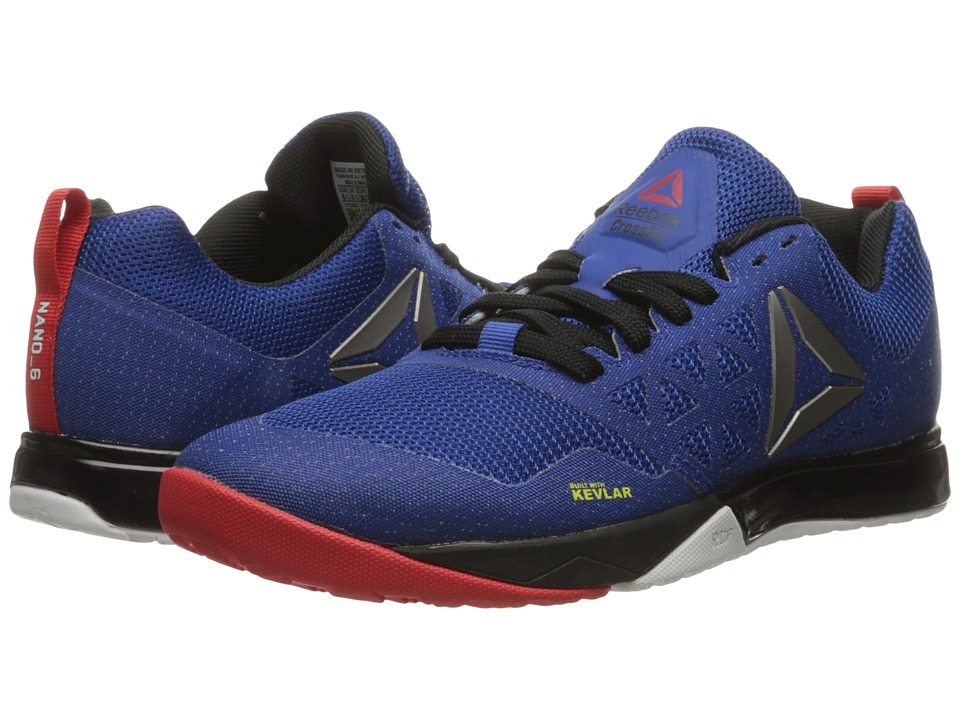 Reebok - Crossfit Nano 6.0 (Team Dark Royal/Black/White/Riot Red/Pewter) Men's Cross Training Shoes