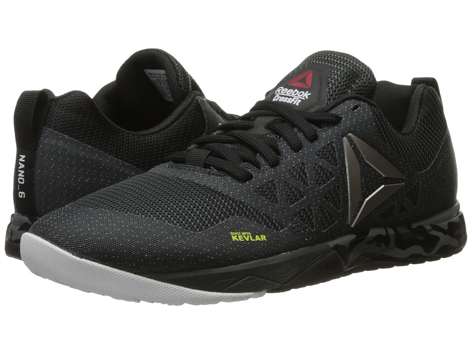 Reebok - Crossfit Nano 6.0 (Gravel/Black/White/Pewter) Men's Cross Training Shoes