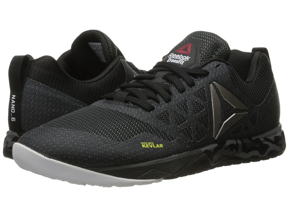 Reebok - Crossfit Nano 6.0 (Gravel/Black/White/Pewter) Men's Cross Training Shoes