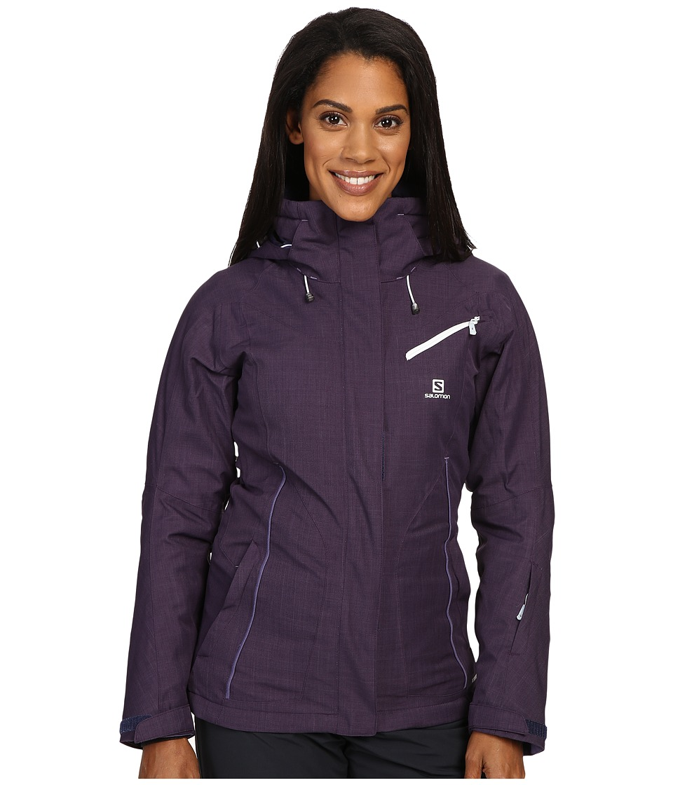 Salomon - Fantasy Jacket (Nightshade Grey) Women's Coat