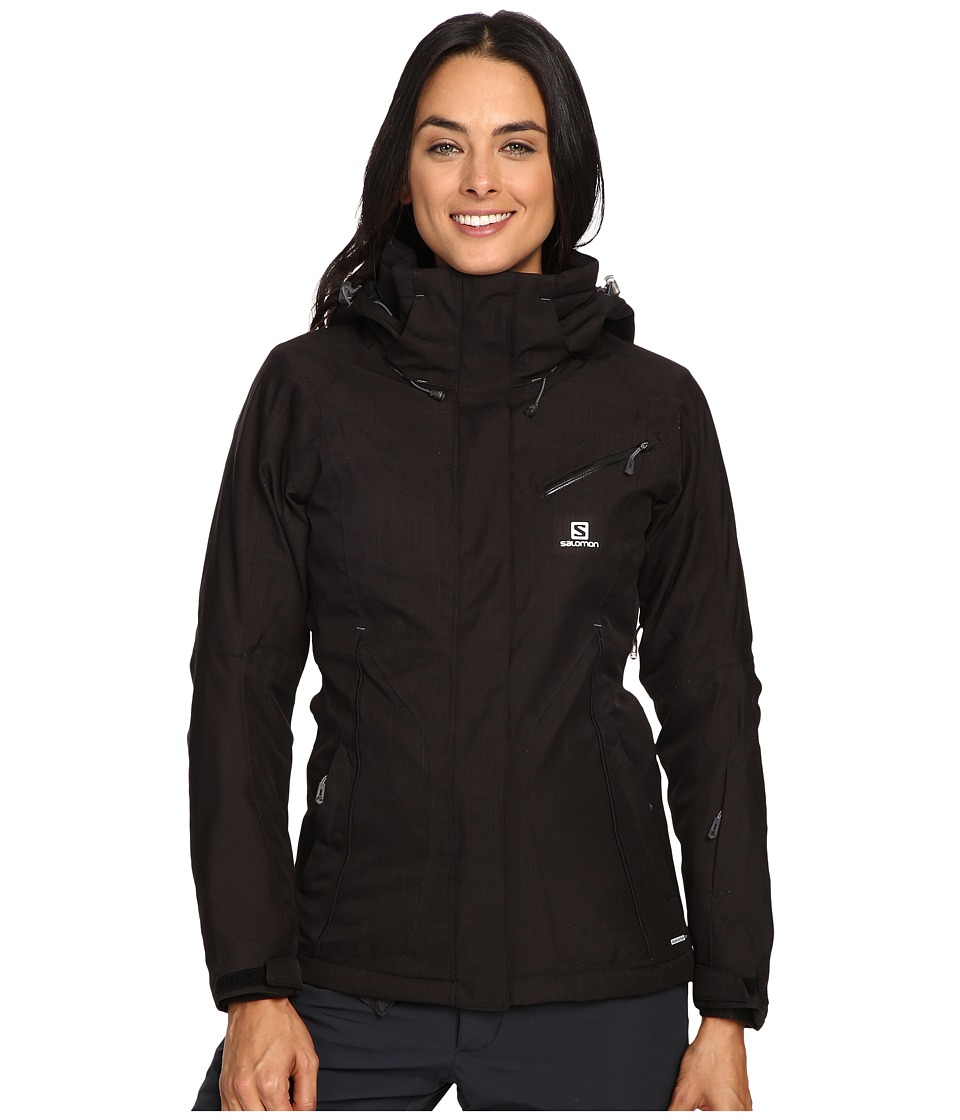 Salomon - Fantasy Jacket (Black) Women's Coat