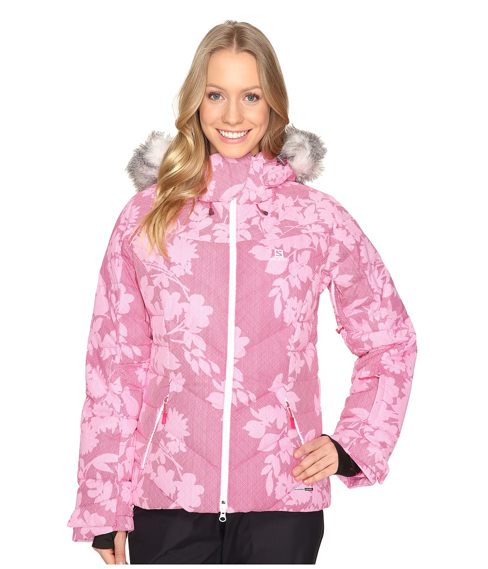 Salomon - Icetown + Jacket (Gaura Pink) Women's Coat