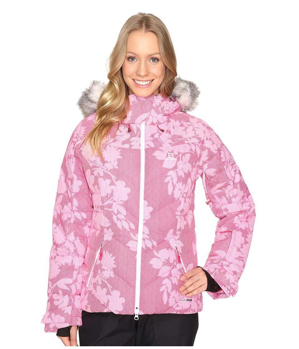 Salomon - Icetown + Jacket (Gaura Pink) Women's Coat