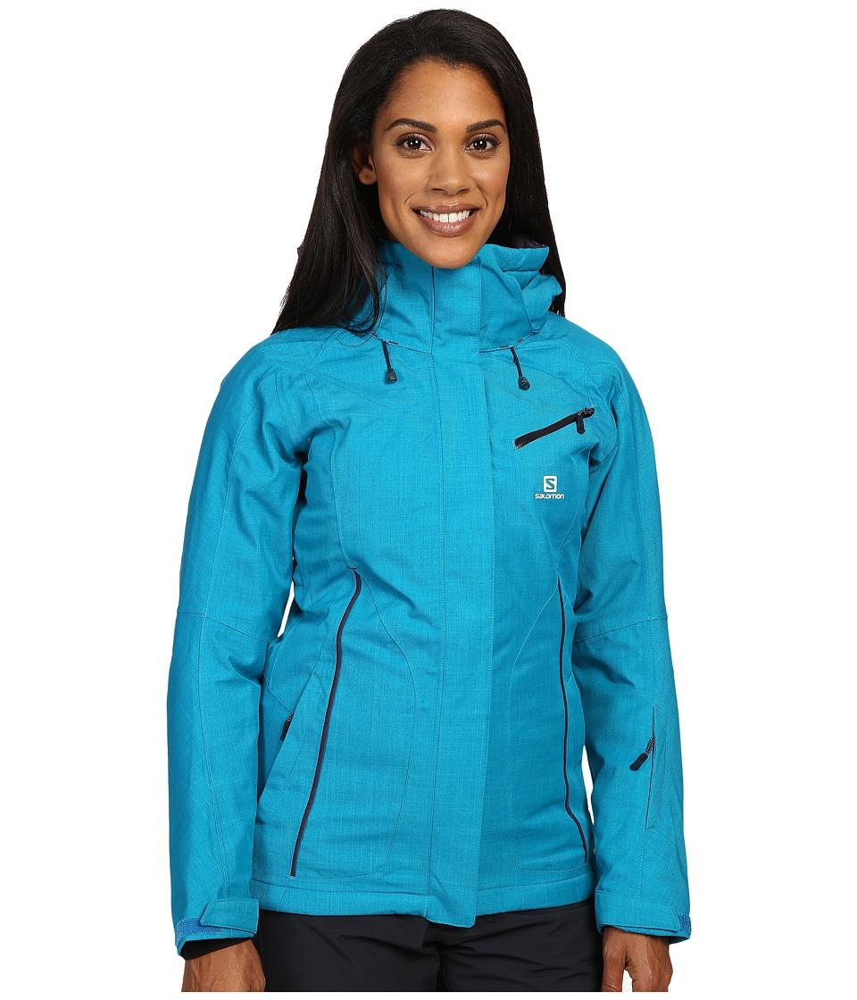 Salomon - Fantasy Jacket (Kouak Blue) Women's Coat