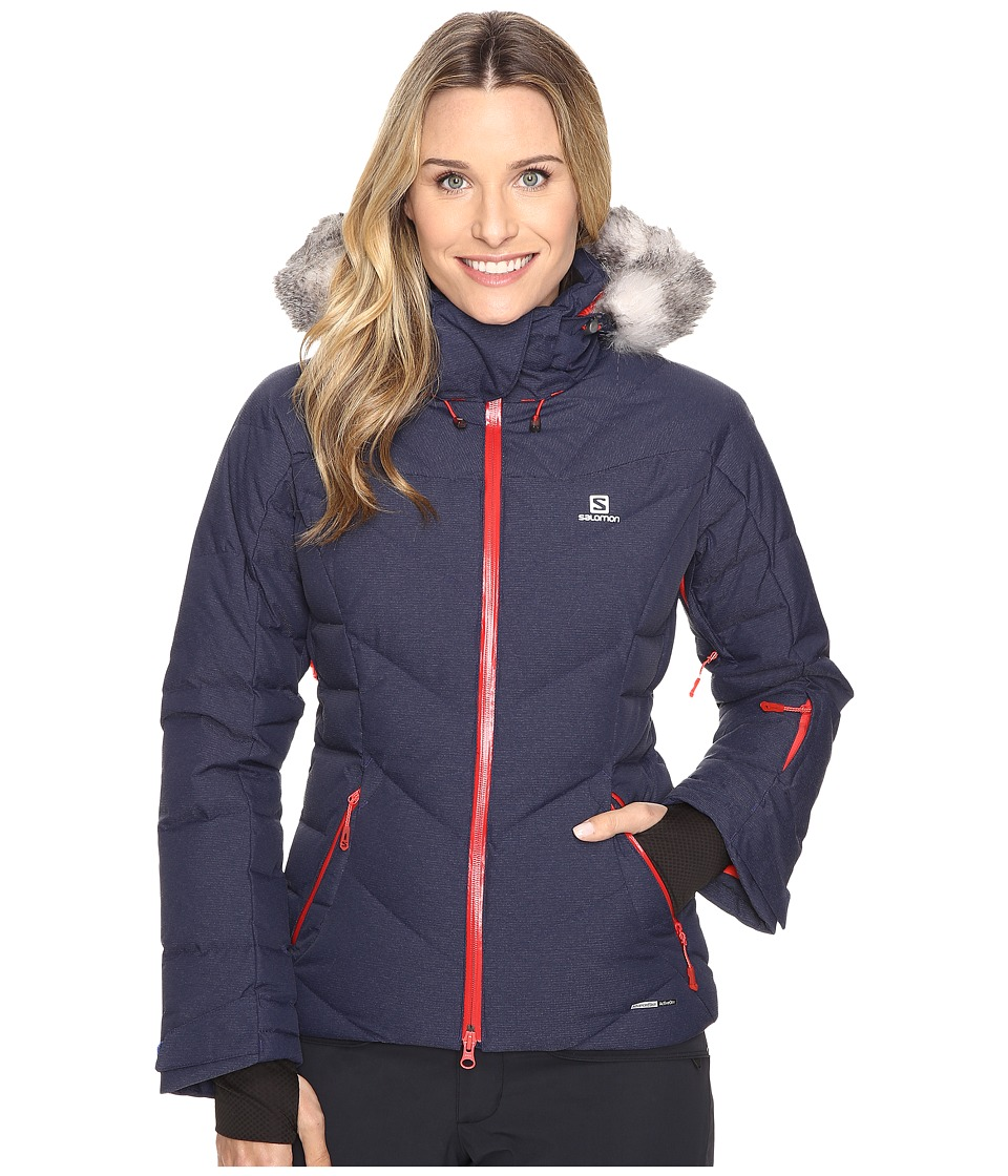 Salomon - Icetown Jacket (Wisteria Navy) Women's Coat