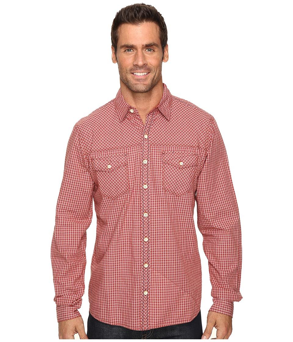 Ecoths Rocco Long Sleeve Shirt (Tabasco) Men