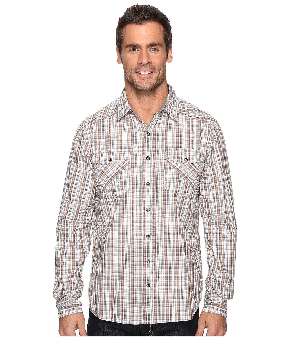 Ecoths - Brooks Long Sleeve Shirt (Thyme) Men's Clothing