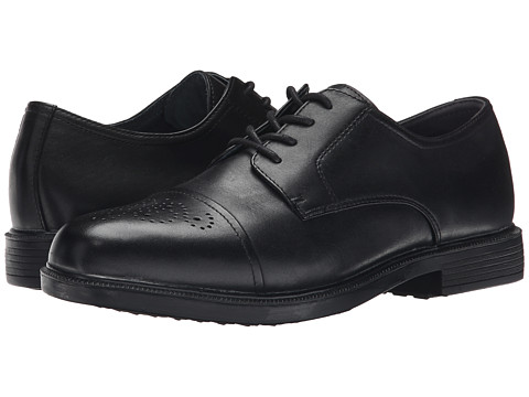 Propet - Wall Street Walker (Black) Men's Lace Up Cap Toe Shoes