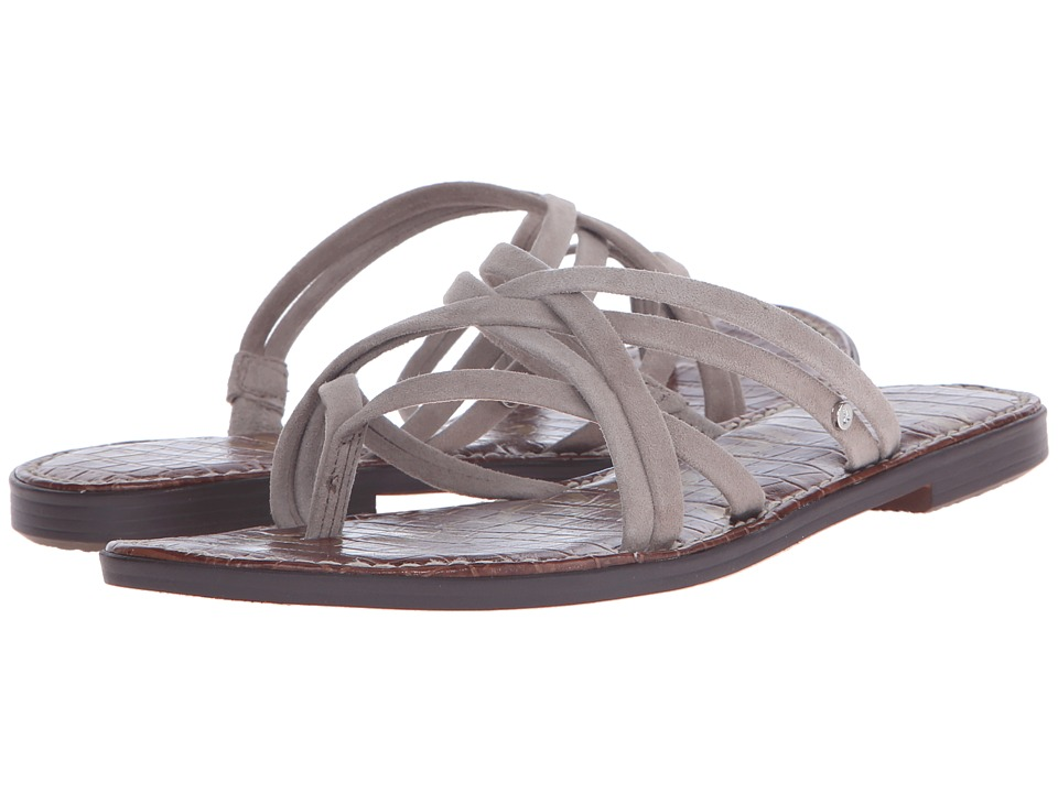 Sam Edelman Georgette Putty Kid Suede Leather Sandals