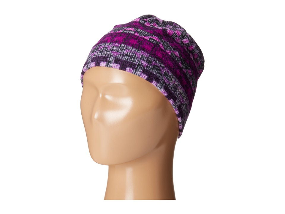 Columbia - Glacial Fleece Hat (Youth) (Bright Plum Fairisle) Beanies