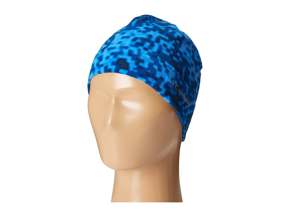 Columbia - Glacial Fleece Hat (Youth) (Marine Blue Digicamo) Beanies