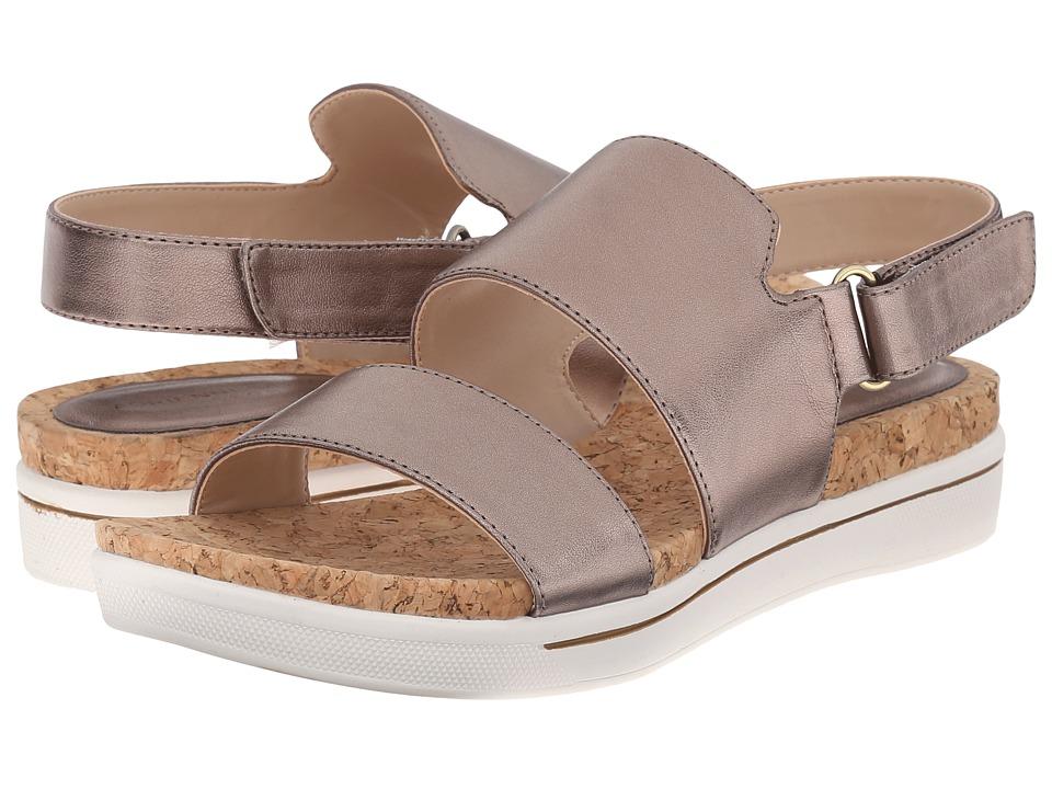 Adrienne Vittadini - Chuckie (Champagne Metallic) Women's Sandals
