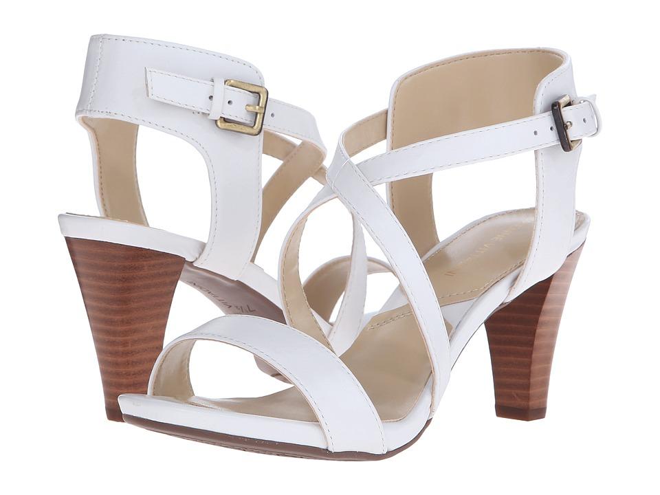 Adrienne Vittadini - Briale (White Soft Calf) Women's Sandals