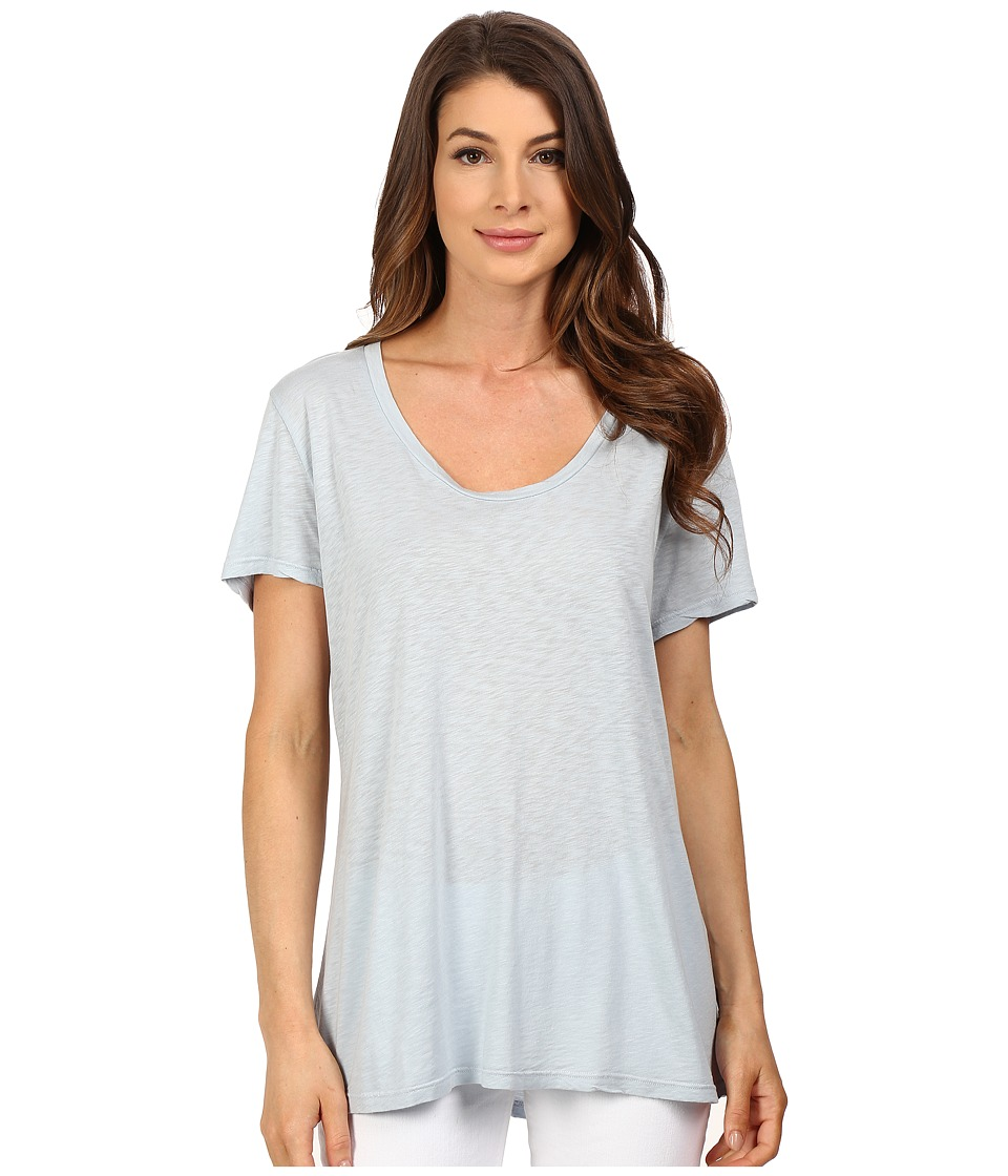 The Beginning Of - Slub Charlotte Slouchy Tee (Sky) Women's T Shirt