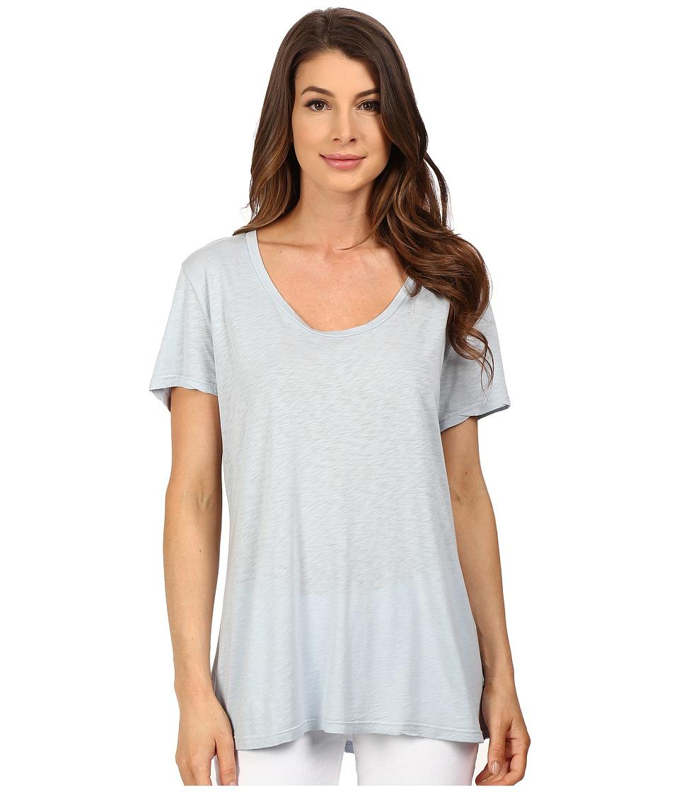 The Beginning Of - Slub Charlotte Slouchy Tee (Sky) Women's T Shirt