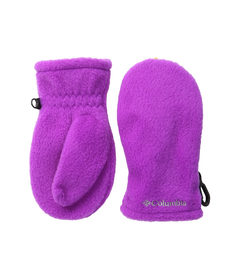 Columbia - Fast Trek Mitten (Toddler) (Bright Plum) Extreme Cold Weather Gloves
