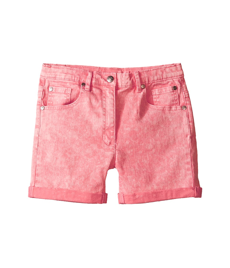 Appaman Kids - Super Soft Roll Cuff York Chalk Denim Shorts (Toddler/Little Kids/Big Kids) (Salmon Rose) Girl's Shorts