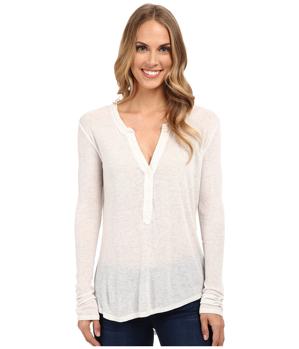The Beginning Of - Cashmere Modal Charlotte Slouchy Tee (Heather Grey) Women's T Shirt