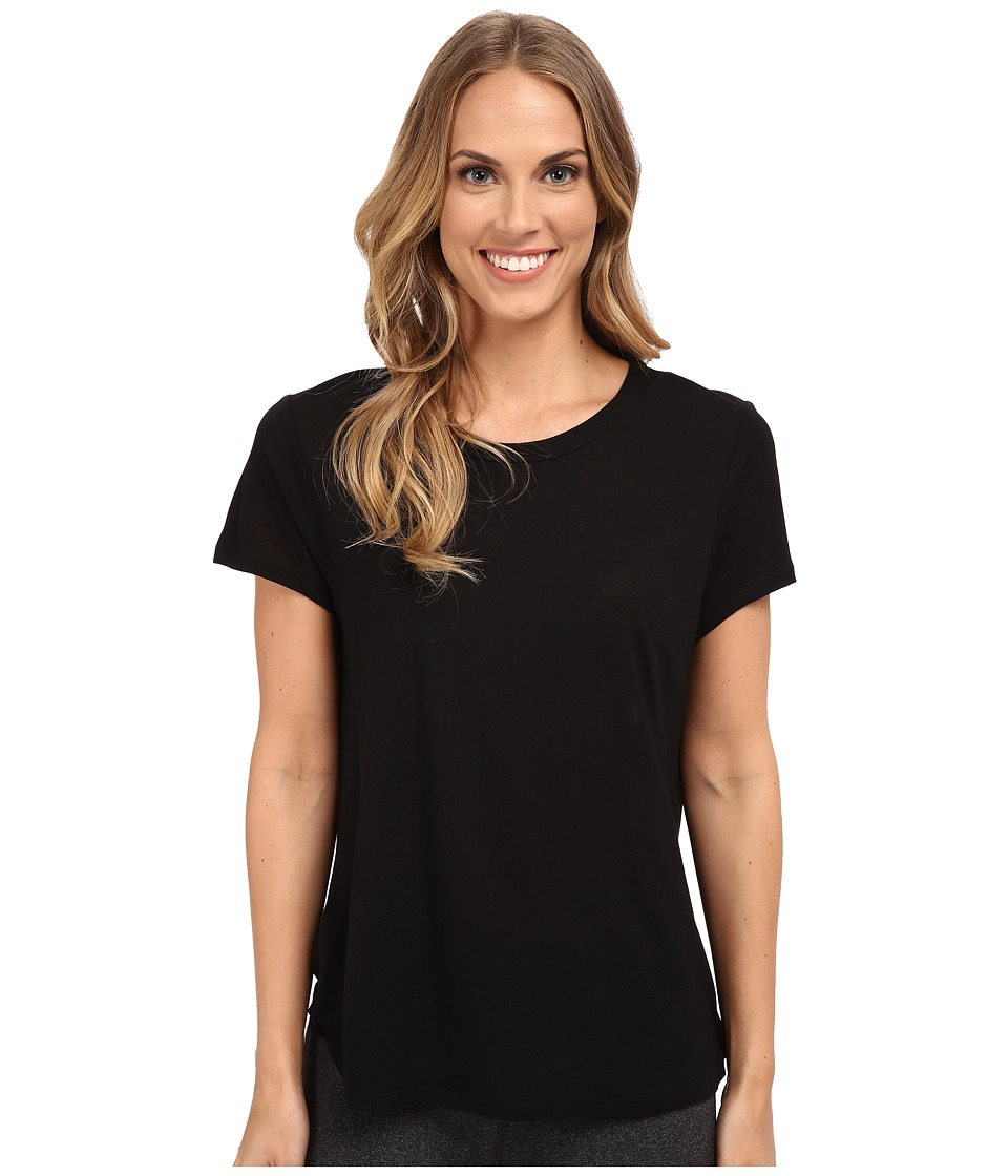 The Beginning Of - Cashmere Modal Effie Perfect Fit Tee (Black) Women's T Shirt
