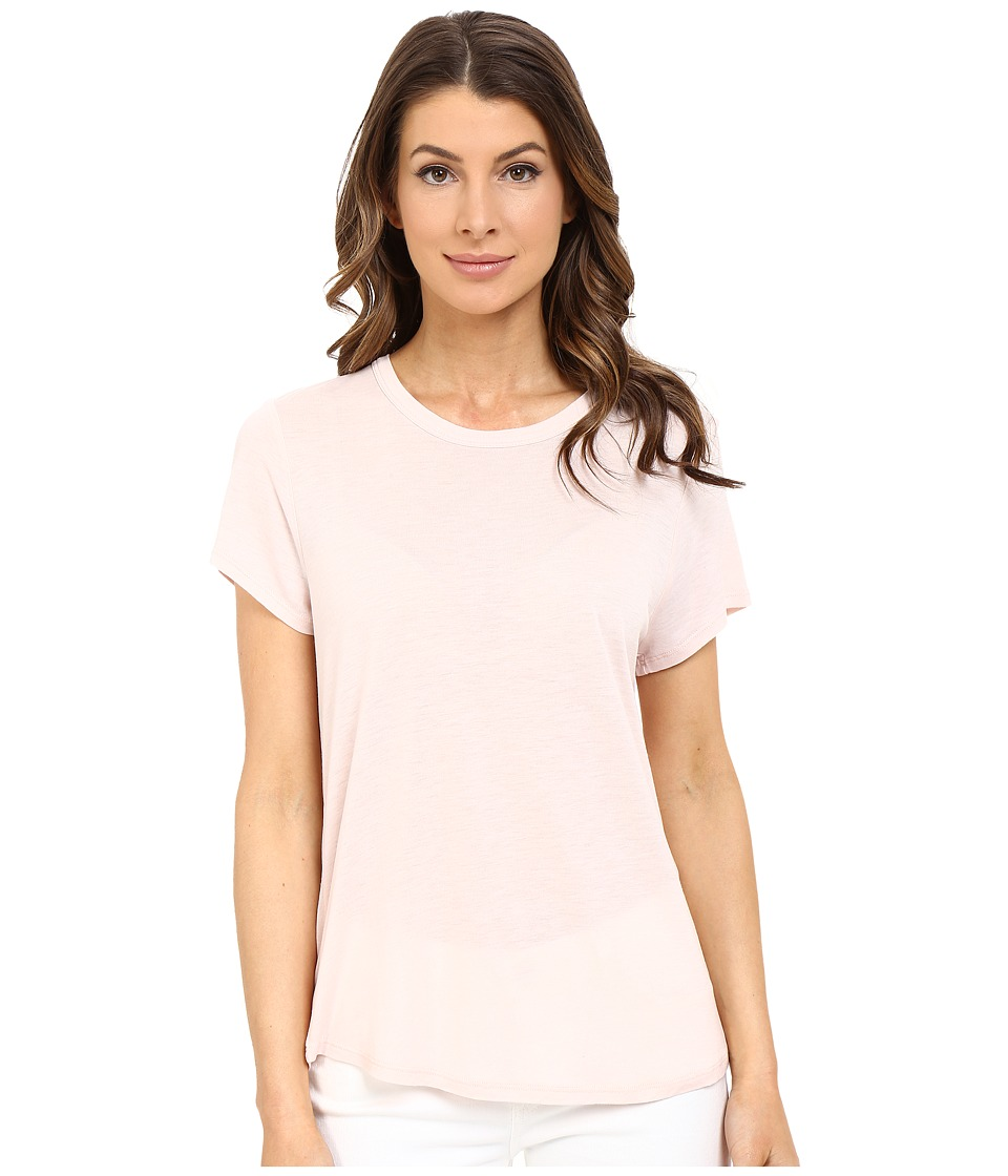 The Beginning Of - Cashmere Modal Effie Perfect Fit Tee (Petal) Women's T Shirt
