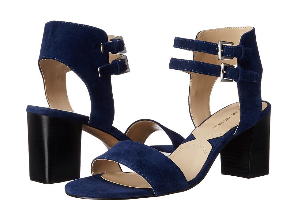 Adrienne Vittadini - Palti (Blue Kid Suede) High Heels