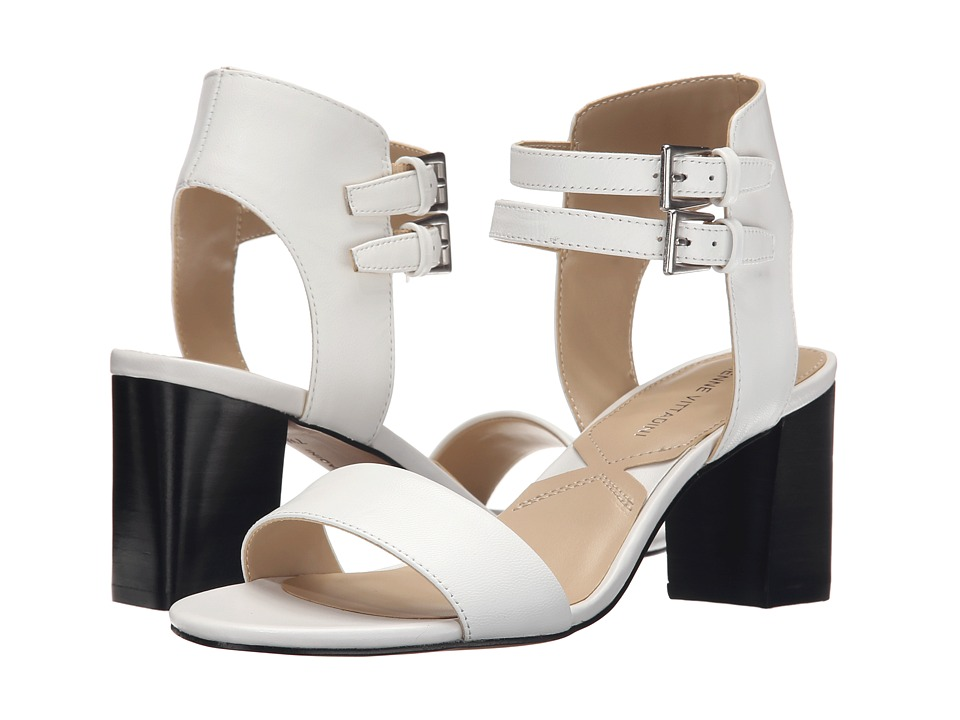 Adrienne Vittadini Palti (White Soft Nappa) High Heels