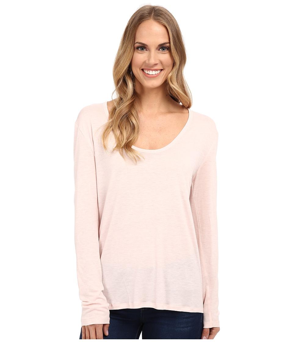 The Beginning Of - Cashmere Modal Butina Long Sleeve Tee (Petal) Women's T Shirt